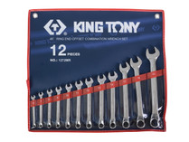 SPANNER SET 12pc combination offset King Tony 1272MR