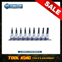 "9pc Torx star bit socket set 1/2""Dv SUPERIOR QUALITY King Tony 4119PR10"