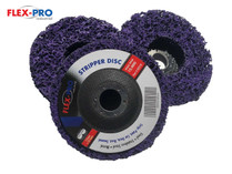 "STRIPPER DISC paint remover disc 5"" (125mm) x 3pc pack TRADE QUALITY"