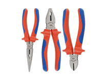 Plier set 3pc Electricians King tony