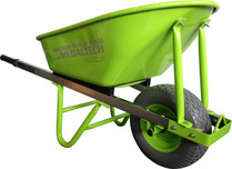 BUILDERS BARROW with wide puncture proof wheel