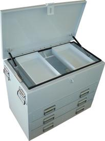 Tool box steel tradesmans ute box 28281