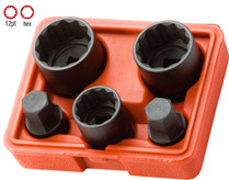 "5pc IMPACT SOCKET SET 1/2""Drive 12 Point"