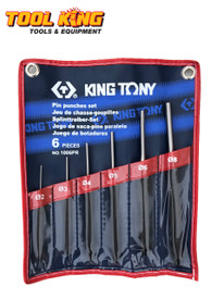 Pin punch set  6pc King Tony Superior Quality professional grade