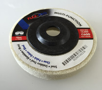 "Multi function POLISHING DISCS 4"" white 600g FLEX-PRO"