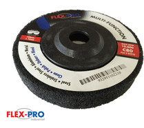 "Multi function POLISHING DISCS 4"" black 80g FLEX-PRO"