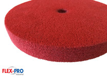 "Multi function POLISHING DISCS 8"" red 240grit FLEX-PRO"