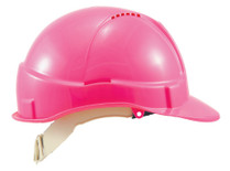 Hard Hat Vented  fluoro PINK