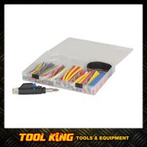 161 piece Heat shrink assortment kit Plus blow torch