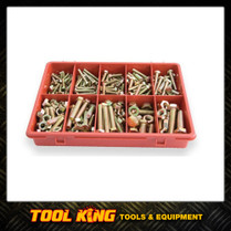 290pc Bolt & Nut Assortment pack HI TENSILE grade 8.8 metric