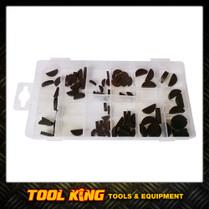 80pc Woodruff key assortment pack