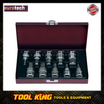 10pc INHEX Hex Key socket set Imperial Eurotech