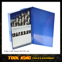 15pc Left Handed Drill bit set INSIZE