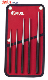 TAPER PUNCH SET long series Genius 5PC Professional Quality