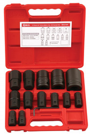 "Genius 14pc X 3/4""Drive INHEX Hex Bit socket set metric"