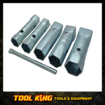 6pc Tap tube spanner set Square and Hex plumbers kit