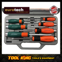 Eurotech 7pc Screwdriver set Thru Tang  TRADE TOUGH