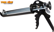 Heavy Duty Caulking Gun Triple bar design for more thrust and less hand fatigue