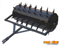"36"" Drum type spike lawn Aerator"