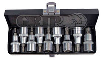 9pc Torx socket set GRIP