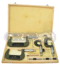 4pc Micrometer set metric