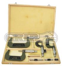 4pc Micrometer set metric