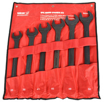 6pc JUMBO SPANNER SET metric