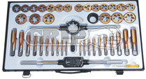 45pc Metric Tap & Die Set