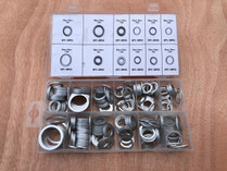 260pc Aluminium washer assortment pack