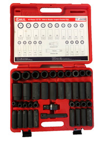 40pc Impact socket set Metric GENIUS
