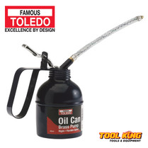 Oil Can with brass pump TOLEDO