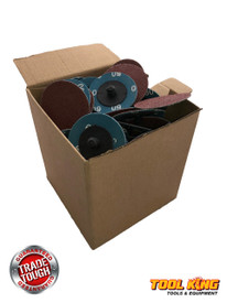 "Box of 100pcs x 2"" 50mm ROLOC quick change surface sanding discs 60gritt"