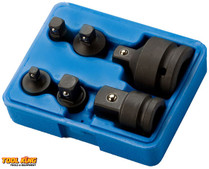 6pc Impact socket adaptor set Auzgrip