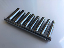 "8pc Deep Socket set 1/4"" Drive METRIC Chrome Vanadium"