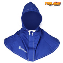 Welders hood Flame resistant Promax Blue Weldclass Kevlar stitched