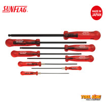 8Pc Hex key driver set Metric SUNFLAG Made in Japan