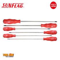 6pc EXTRA LONG TORX star screw driver set   SUNFLAG Made in Japan