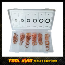 110pc Copper washer Assortment pack