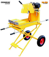 "14"" Electric Brick saw Cromelins"