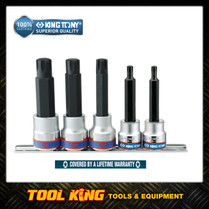 RIBE Socket bit set 5pc set  King Tony SUPERIOR QUALITY