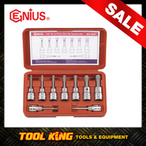 9pc Torx star Bit Socket set  Genius Professional