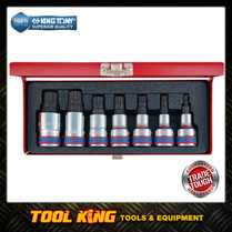7pc SPLINE Socket Bit set SUPERIOR QUALITY  King tony