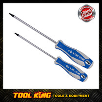 2X SQUARE Drive Screwdrivers Robinson 1 & 2 SUPERIOR QUALITY  King tony