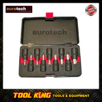 9pc Torx star bit socket set Eurotech