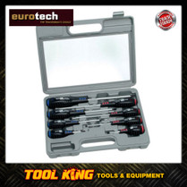 Eurotech 8pc Professional Screwdriver Set  with cushion grips