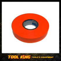 Survey flagging tape  25mm x 100mt  Fluoro Orange