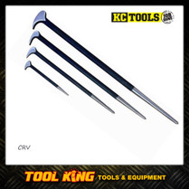 KC TOOLS 4pc Rolling head pry bar set CRV professional