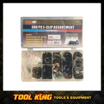 300pc E Clip assortment Assortment kit