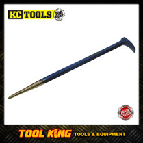 KC TOOLS  Rolling head pry bar CRV professional