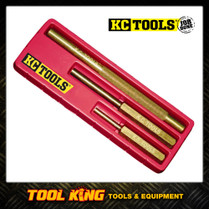 3pc Brass punch & Drift set High quality  KC Tools